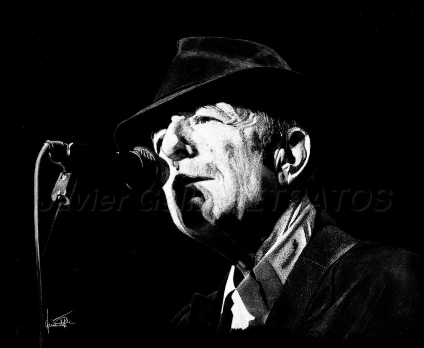 Leonard Cohen par JumpingJack